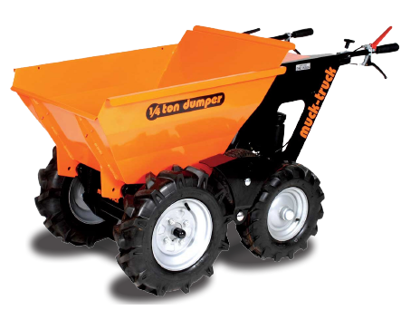 Muck Truck quarter ton gas powered dumper