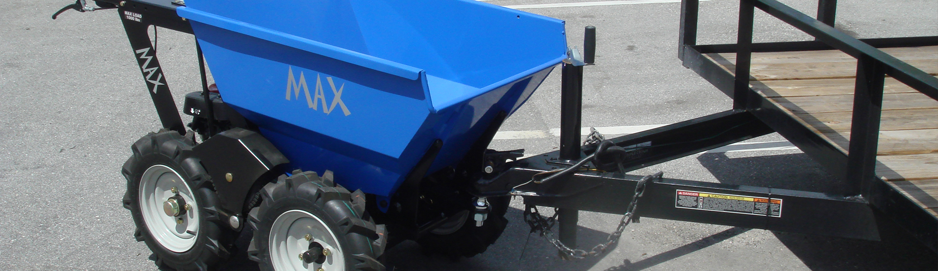 Muck Truck Max with Tow Hitch Accessory