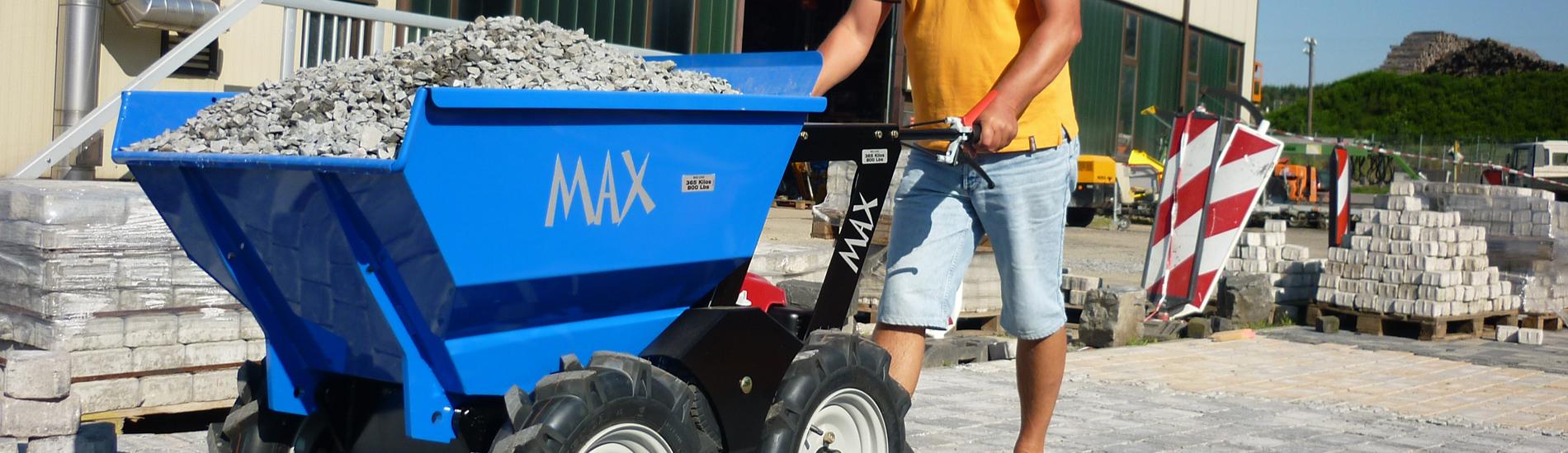 Muck Truck Max gas powered dumper